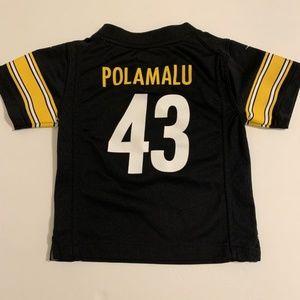 Troy Polamalu Pittsburgh Steelers Kids Baby